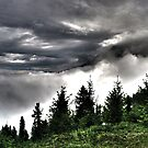 dramatic clouds over the mountains #2 by hidden-design