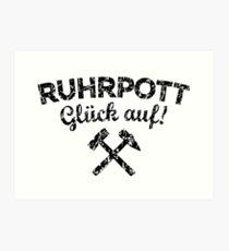 Ruhrpott Spruche Wandbilder Redbubble