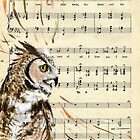 Owl Music by CharmyRaven