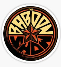 the baboon show Sticker