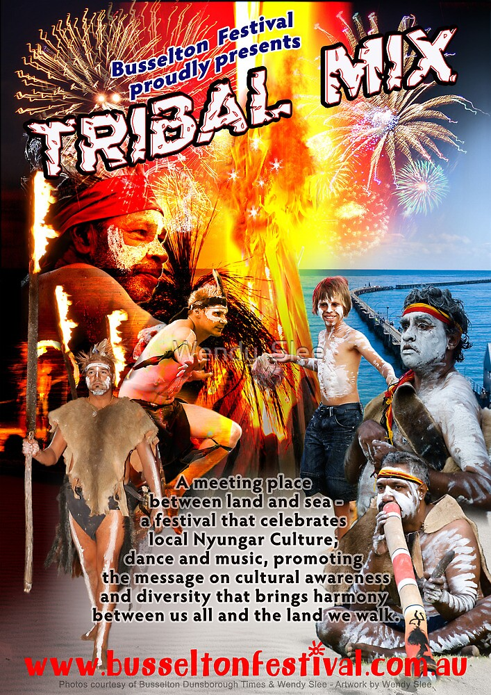 Tribal Mix by Wendy  Slee