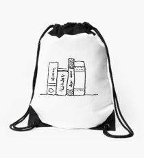 Bücher - Print - die wahre Liebe Rucksackbeutel