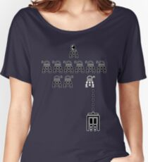 Delusional DALEK Invaders Women's Relaxed Fit T-Shirt