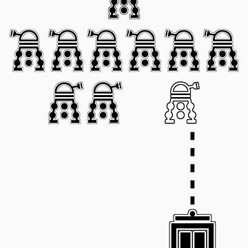 Delusional DALEK Invaders by G-TWO