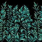 «Ivy Jungle (Black Edition)» de MonJaro