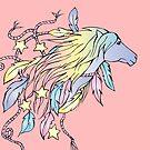 Rainbow Horse by bettinadreier75