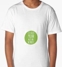 Es geht mehr als du denkst -print Long T-Shirt