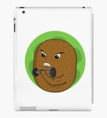 Kiwi dumbbell workout iPad Case/Skin