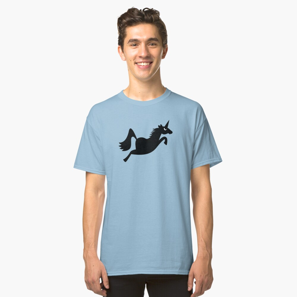 Angry Animals: Unicorn Classic T-Shirt