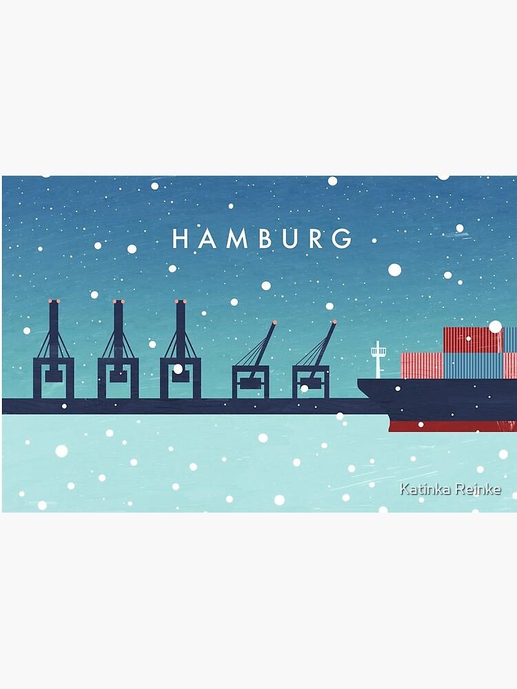 Hamburg im Winter von katinkareinke