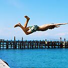 Portsea Pier Dive by MichaelCouacaud