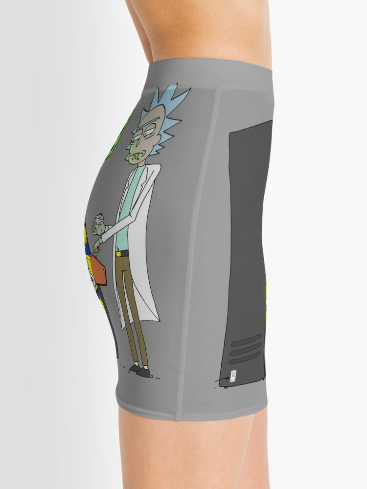 Alternate view of Rick's Downtime Mini Skirt