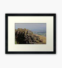 Otley Chevin Framed Print