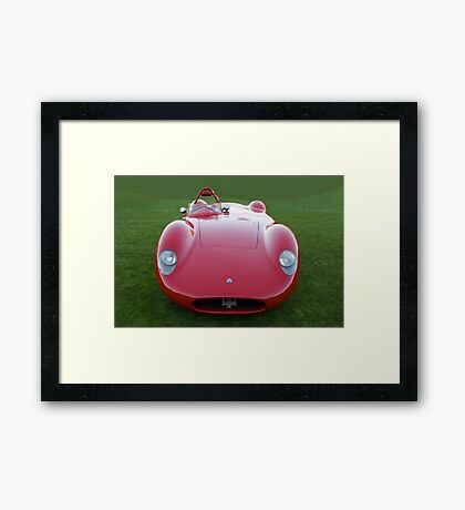 1958 Maserati 450 S Framed Print