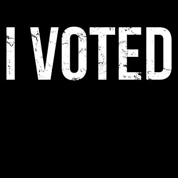 I Voted Election by flippinsg