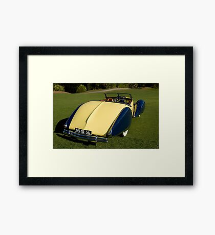 1948 Delahaye  Framed Print