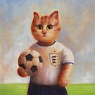 Football Cat by Mario-designs