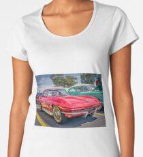 1966 Corvette Sting Ray C2 convertible  Women's Premium T-Shirt