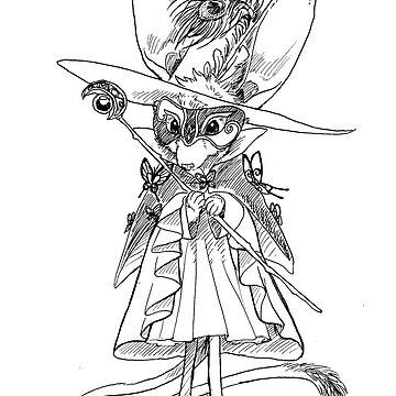Masquerade Jerboa Bruja de pawlove