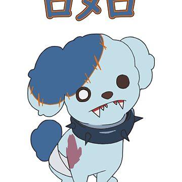 Romero ZombieLand Saga dog by itSof432