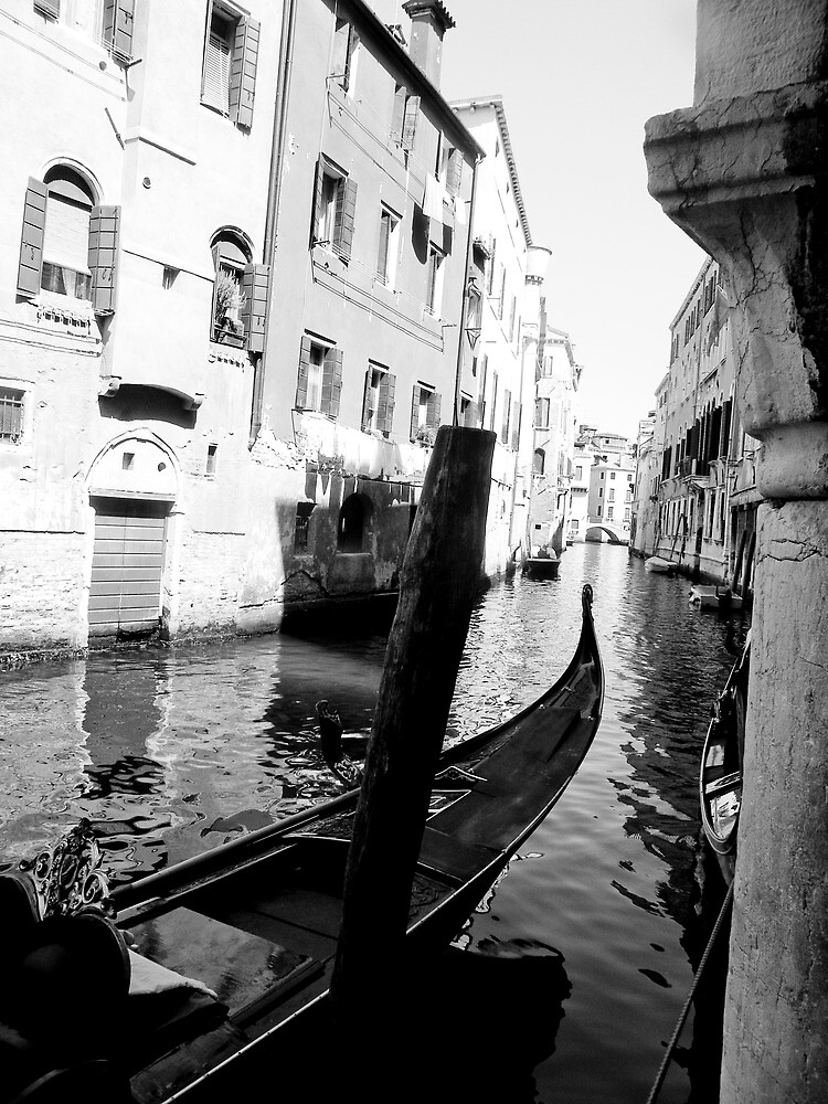 Venice black and white by rosscaughers