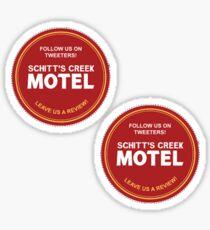 Schitts Creek Find Us On Tweeters Coaster  Sticker