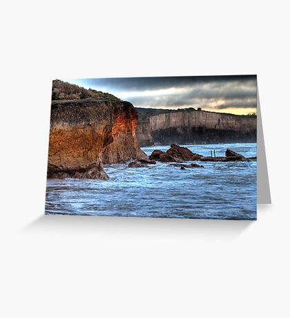 Anglesea Cliffs Greeting Card