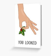 The Circle Finger Game - Christmas! Greeting Card