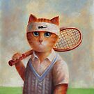 Tennis Cat by Mario-designs