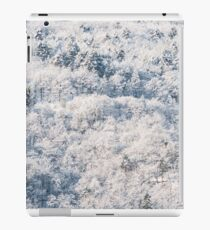 Snow on the wood iPad Case/Skin