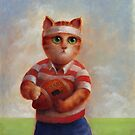Rugby Cat by Mario-designs