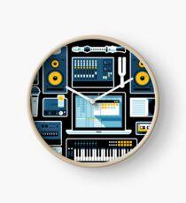 Recording Studio Technology & Equipment Clock