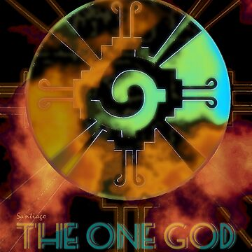 The Maya and The One God by xim0ex