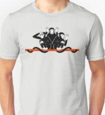 Monkeys Three - hear, speak and see Unisex T-Shirt