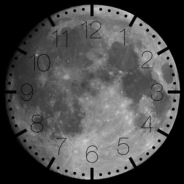 Full moon on black sky background by LukeSzczepanski