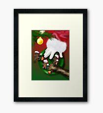 Cookies for Santa Framed Print