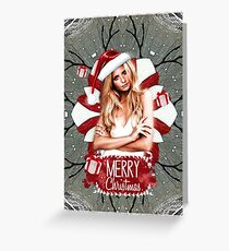 Buffy Merry Christmas Greeting Card