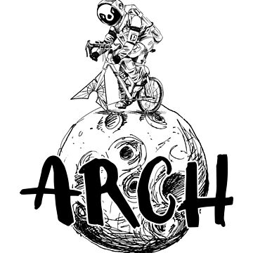 Arch Linux Distro Moonlanding by SWMOApparel