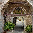 Evangelistria Monastery by Viv Thompson