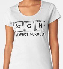 Periodic Table Arch Perfect Formula Women's Premium T-Shirt