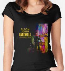 FAREWALL 2018/2019 JOHN ELTON PARKIR Women's Fitted Scoop T-Shirt