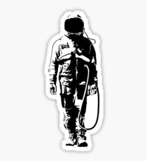 Banksy The Astronaut Artwork, Design For Tshirts, Posters, Men, Women, Youth, Kids Sticker