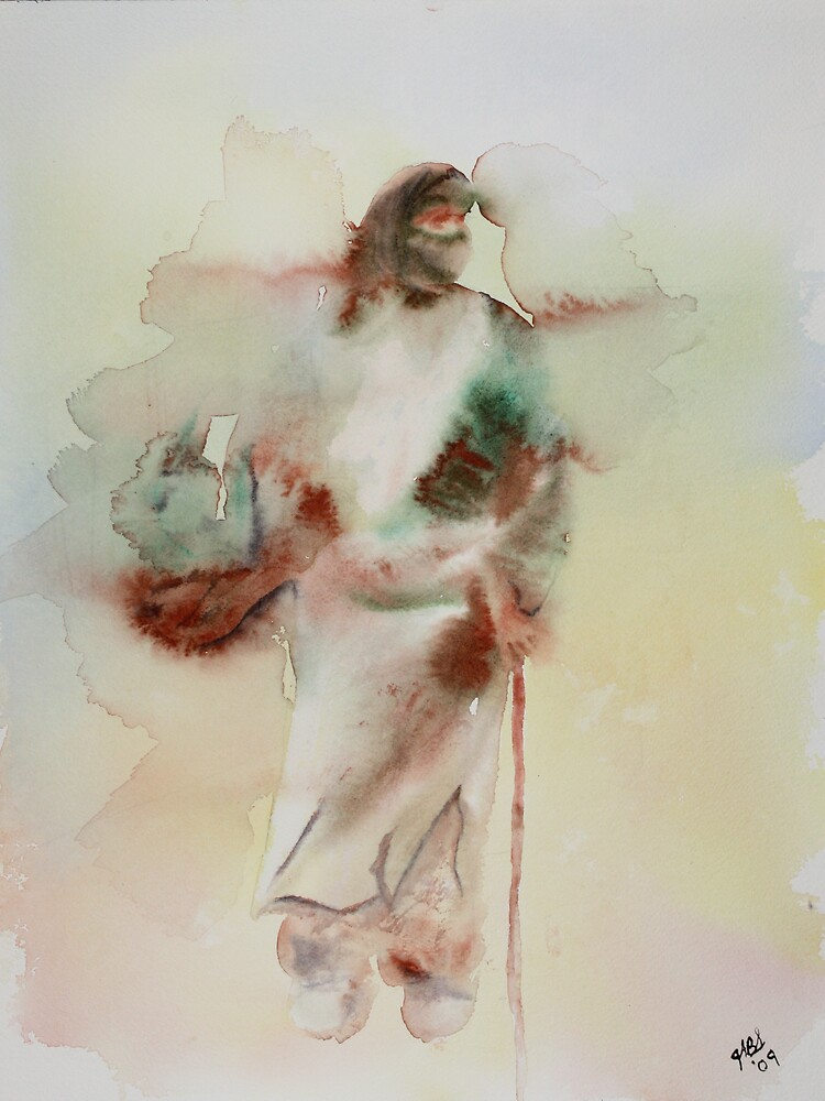 Woman in The Road by Joyce Sousa