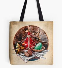 Health Potion and ingredients Tote Bag