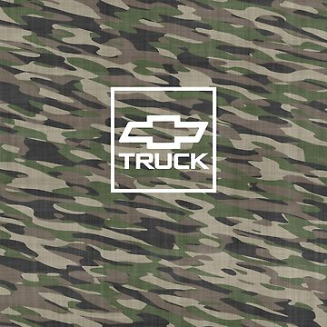 Truck Chevy Camouflage  by roccoyou
