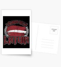 Latvia nationality Postcards