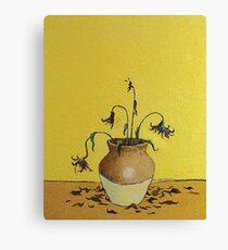 Banksy Sunflowers Artwork, Van Gogh Homage, Tshirts, Posters, Prints, Men, Women, Kids, Youth Canvas Print