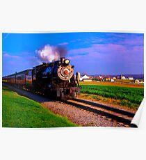 Choo Choo Number 90-Strasburg Railroad Poster