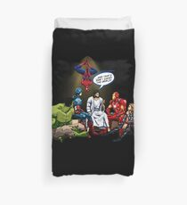 AND THAT'S HOW I SAVED THE WORLD! - Jesus Duvet Cover