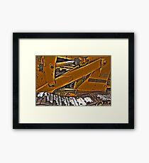 Allis Chalmers Guts Framed Print